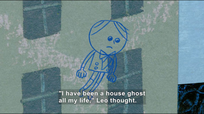 Still image from: Leo: A Ghost Story