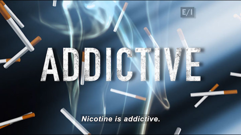 Still image from: Teen Kids News: Special on Tobacco (What Is Nicotine?)