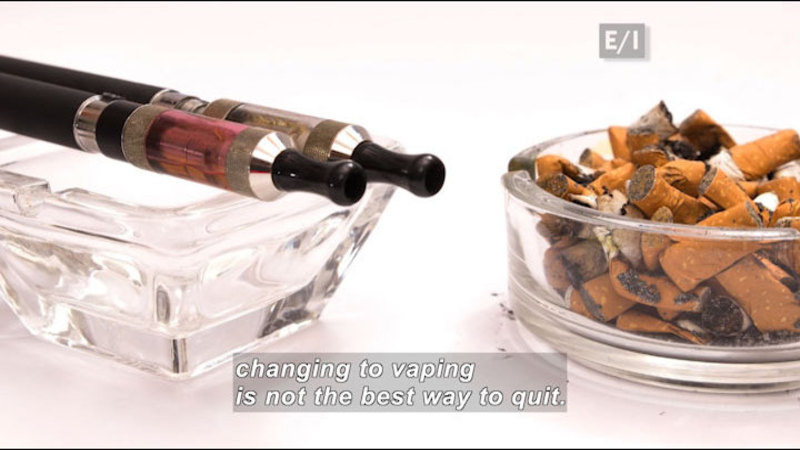 """Still image from: Teen Kids News: Special on Tobacco (Why E-Cigarettes Get an """"F"""")"""