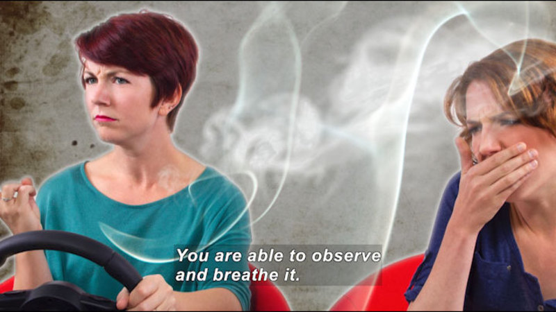 Still image from: Teen Kids News: Special on Tobacco (Secondhand Smoke)