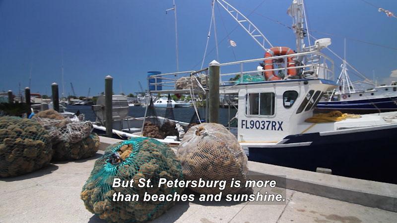 Still image from: Travel Thru History: St. Petersburg, FL
