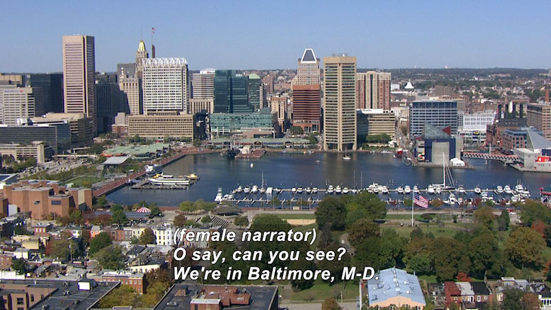 Still image from: Travel Thru History: Baltimore, MD