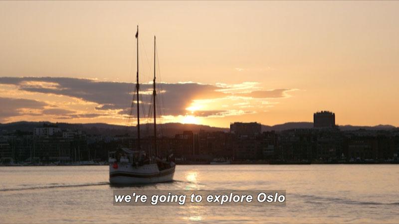 Still image from: Travel Thru History: Oslo, Norway