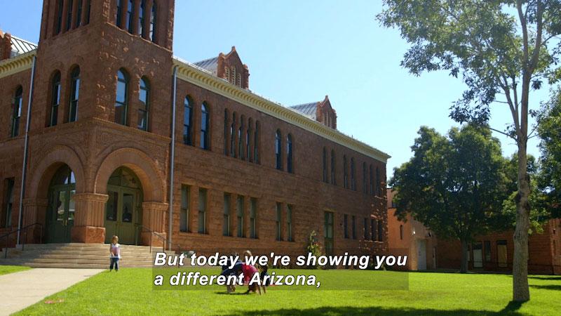 Still image from: Travel Thru History: Flagstaff, Arizona
