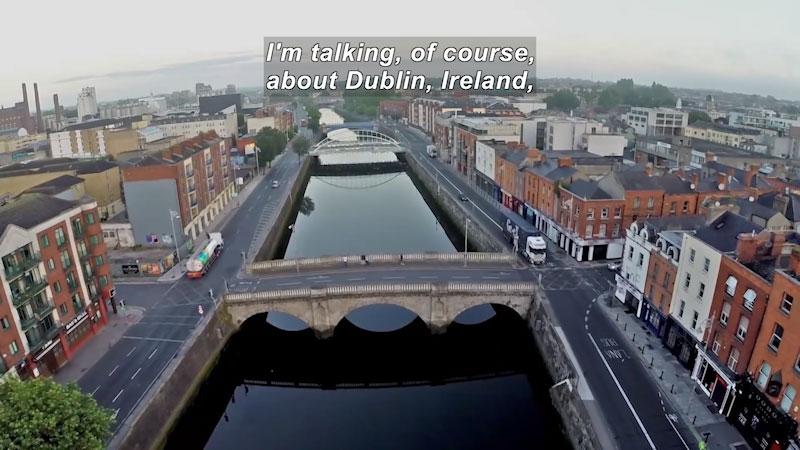 Still image from: Travel Thru History: Dublin, Ireland