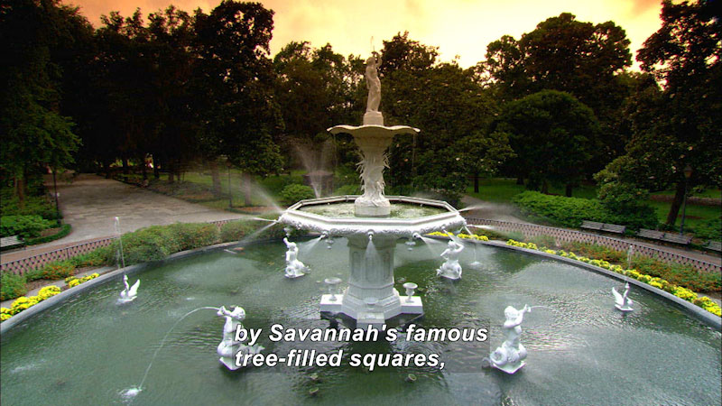 Still image from: Travel Thru History: Savannah, Georgia