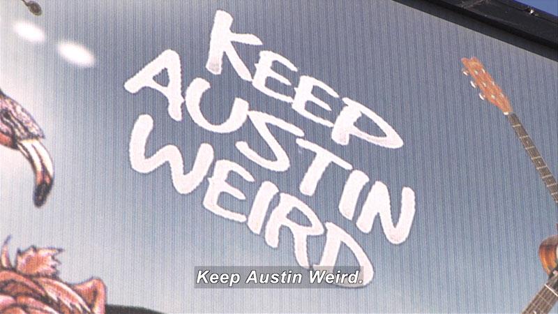 Still image from: Travel Thru History: Austin, Texas