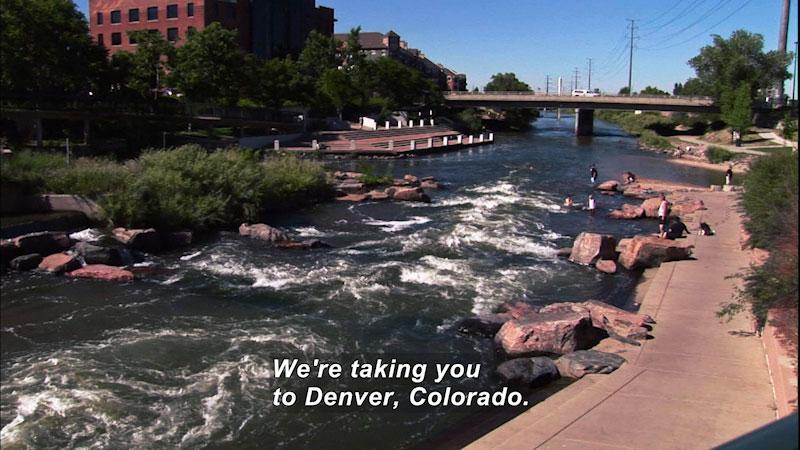 Still image from: Travel Thru History: Denver, Colorado