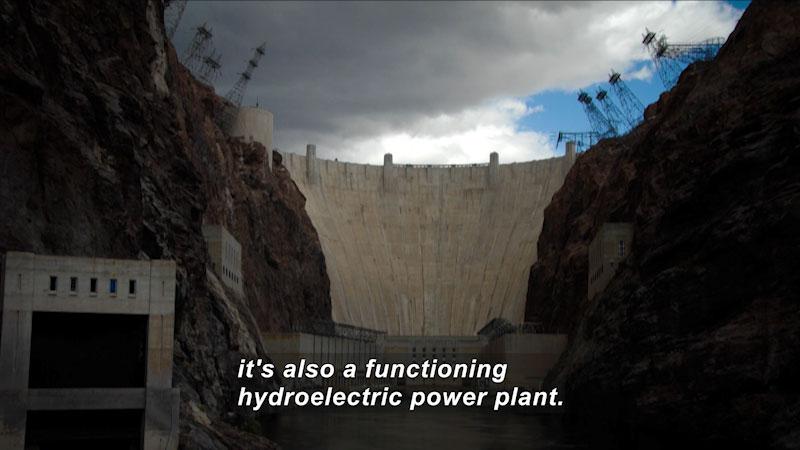 Still image from: Travel Thru History: Hoover Dam
