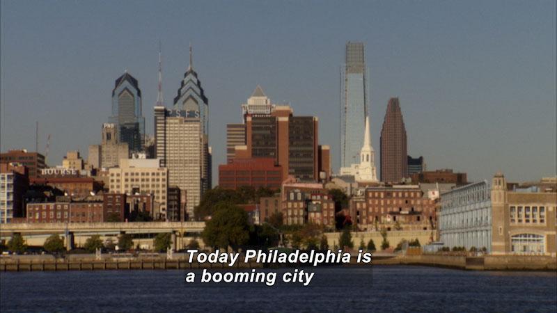 Still image from: Travel Thru History: Philadelphia, Pennsylvania