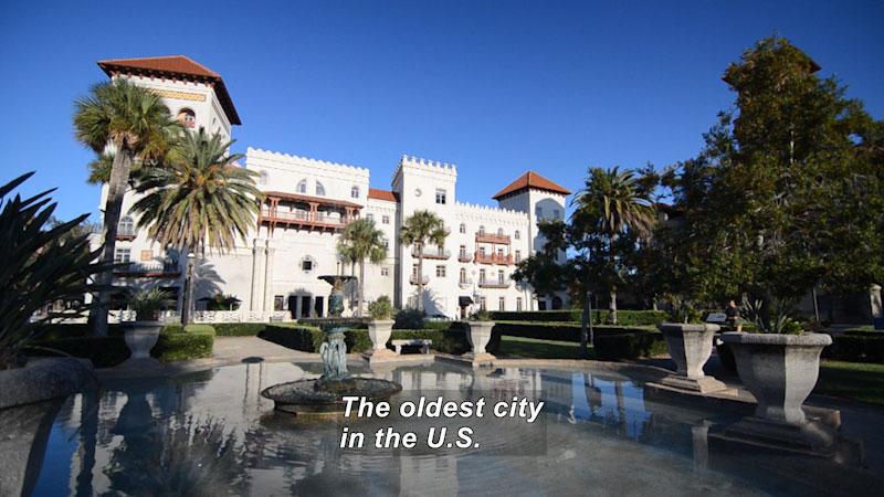 Still image from: Travel Thru History: St. Augustine, Florida