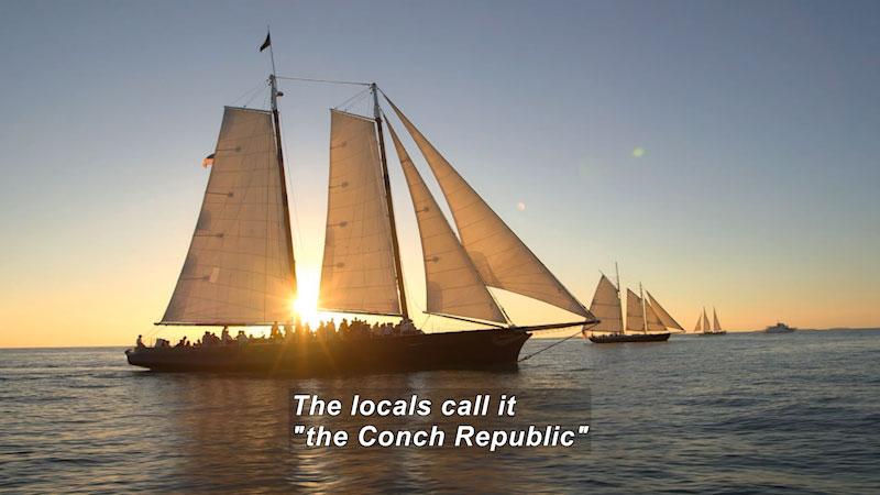 Still image from: Travel Thru History: Key West, Florida