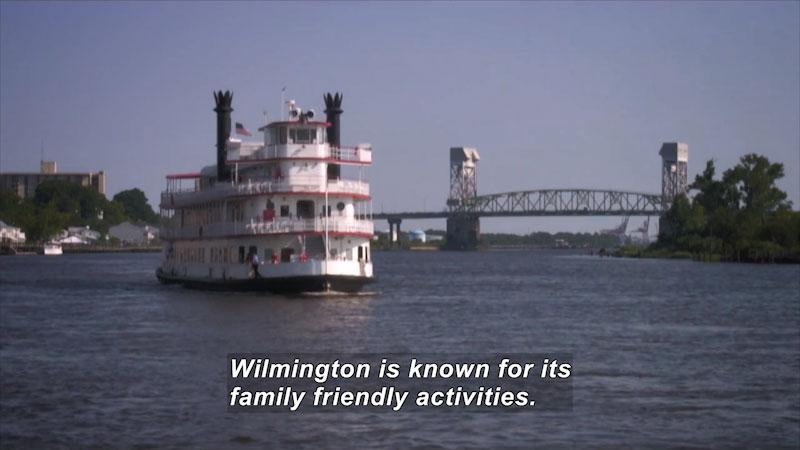 Still image from: Travel Thru History: Wilmington, North Carolina
