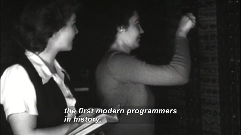 Still image from: Great Unsung Women of Computing: The Computers (Part 1)