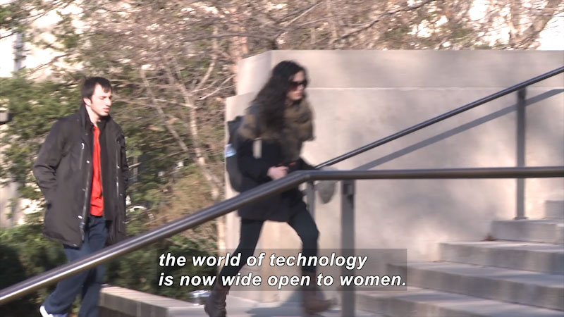 Still image from: Great Unsung Women of Computing: The Future Makers (Part 3)