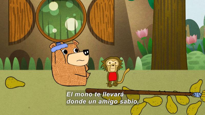 Still image from Eco S.O.S.--Eco Thinking (Spanish)
