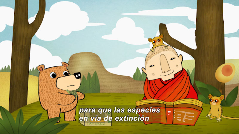 Still image from Eco S.O.S.--Endangered (Spanish)