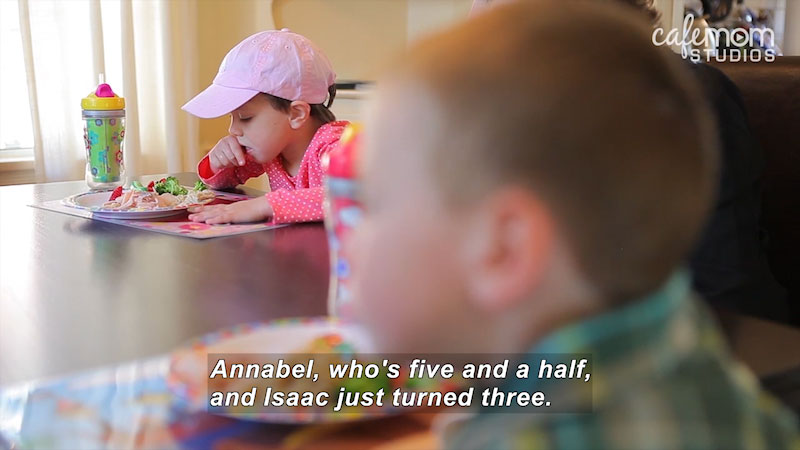 Still image from: Our Special Life: Our Autism Story (The Porath Family)