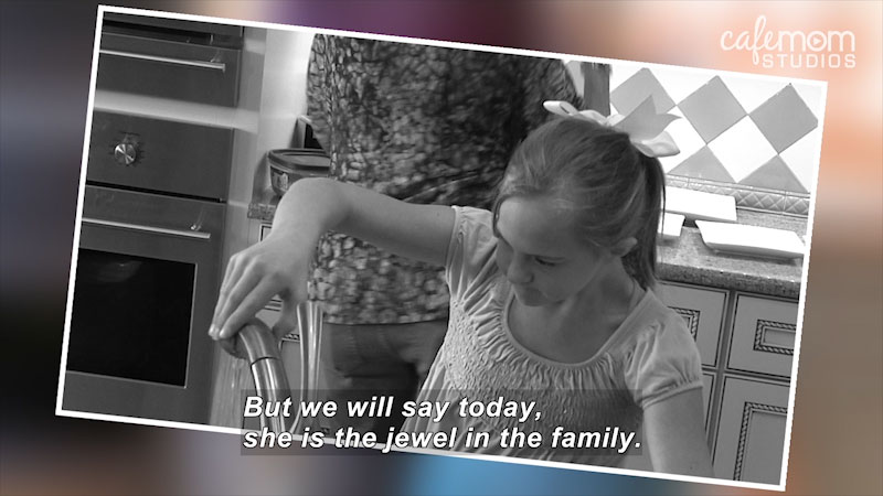 Still image from: Our Special Life: Emma Has Down Syndrome and a Big, Loving Family (The Mutz Family)