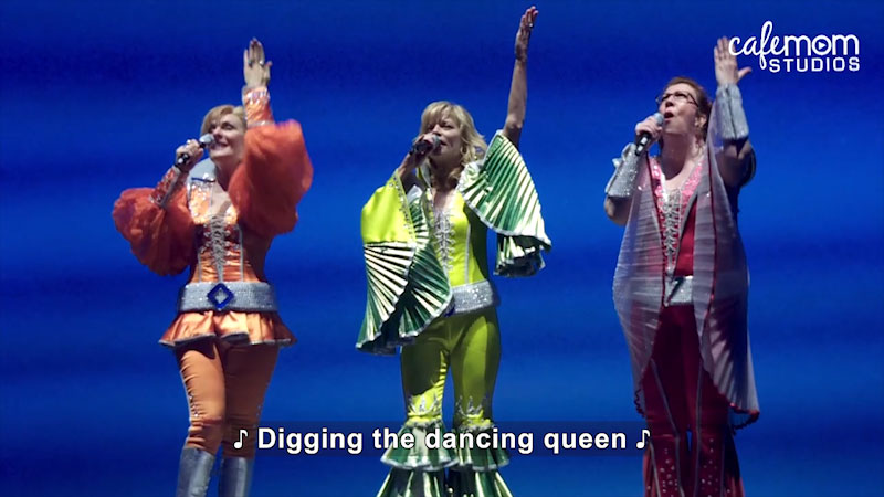 Still image from: On Broadway With Kids: Featuring Parents From Mamma Mia! -- Jennifer's World (Episode 7)