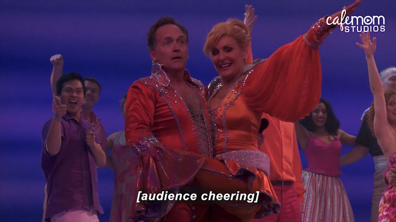 Still image from: On Broadway With Kids: Featuring Parents From Mamma Mia! -- David's World (Episode 9)