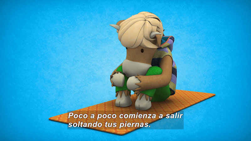 Still image from Ooommm Mmmooo Yoga For Children: Green Willy--Light Stomach (Spanish)