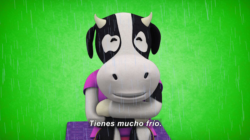 Still image from Ooommm Mmmooo Yoga For Children: Harmonious Flora--Keeps Warm (Spanish)