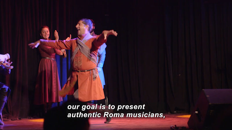 Still image from Bare Feet With Mickela Mallozzi: The Balkans in the Boroughs