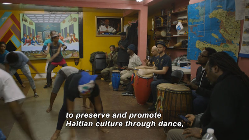 Still image from Bare Feet With Mickela Mallozzi: Little Haiti