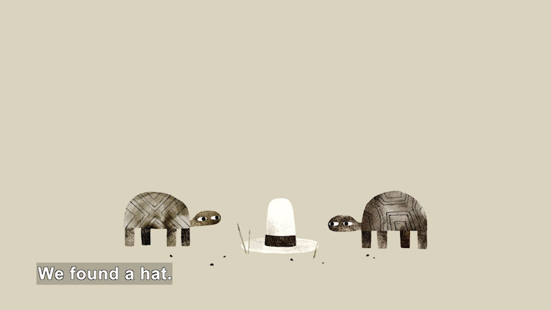 Still image from: We Found a Hat