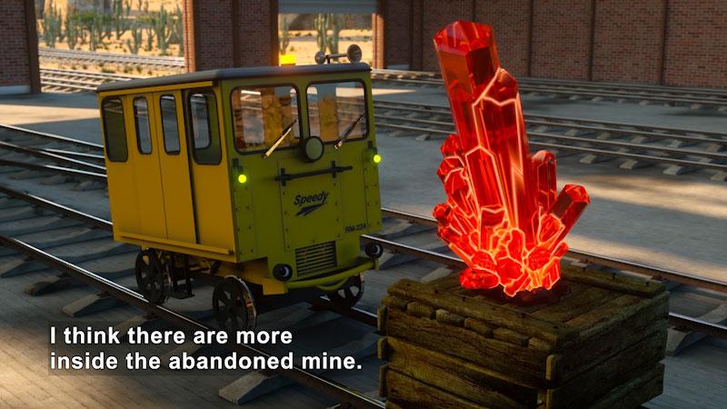 Still image from: Shawn & Team: The Mine Adventure