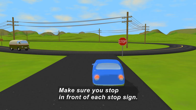 Still image from: Traffic Signs