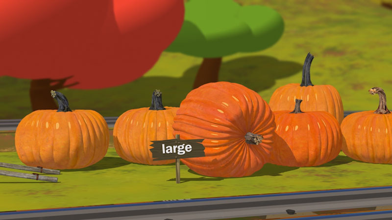 Still image from: The Pumpkin Patch Adventure With Shawn and Team!