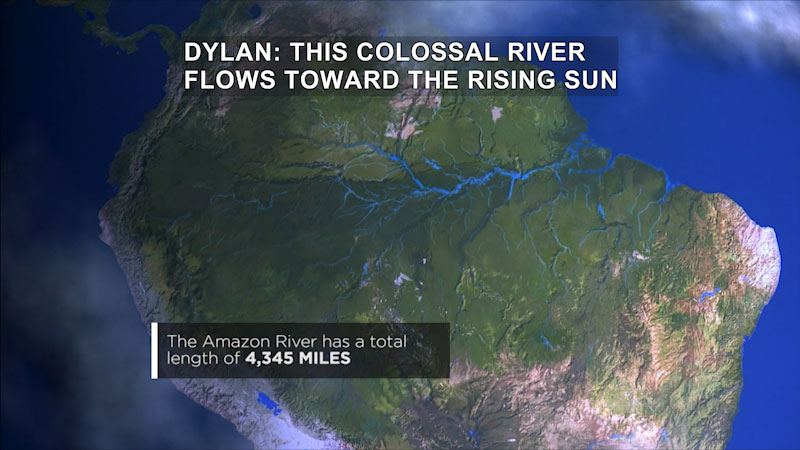 Still image from Journey With Dylan Dreyer: The Great Amazon River