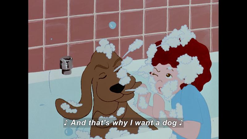 Still image from: I Want a Dog