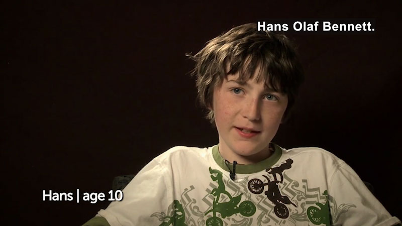 Still image from: Millennials: Growing Up In the 21st Century--Hans's Story