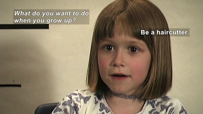 Still image from: Millennials: Growing Up In the 21st Century--Haley's Story