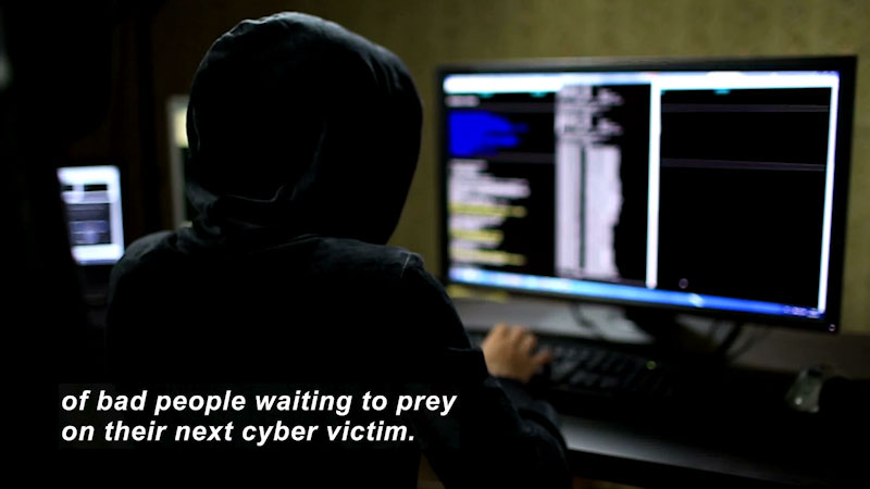 Still image from: Cyber Literacy: When Am I Ever Going to Use This?