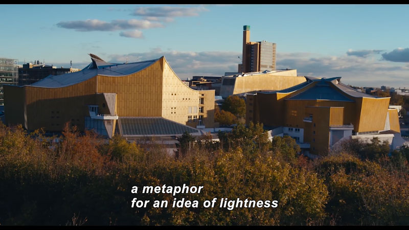 Still image from: Cathedrals of Culture: The Berlin Philharmonic