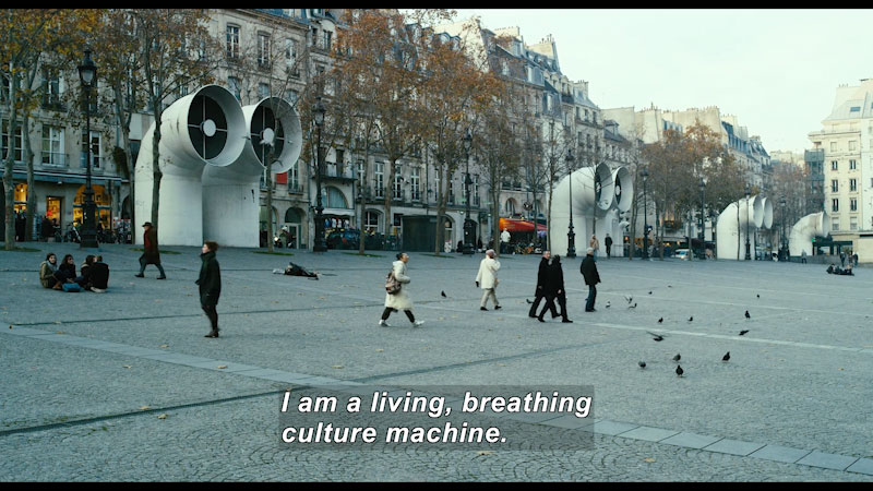 Still image from: Cathedrals of Culture: Centre Pompidou