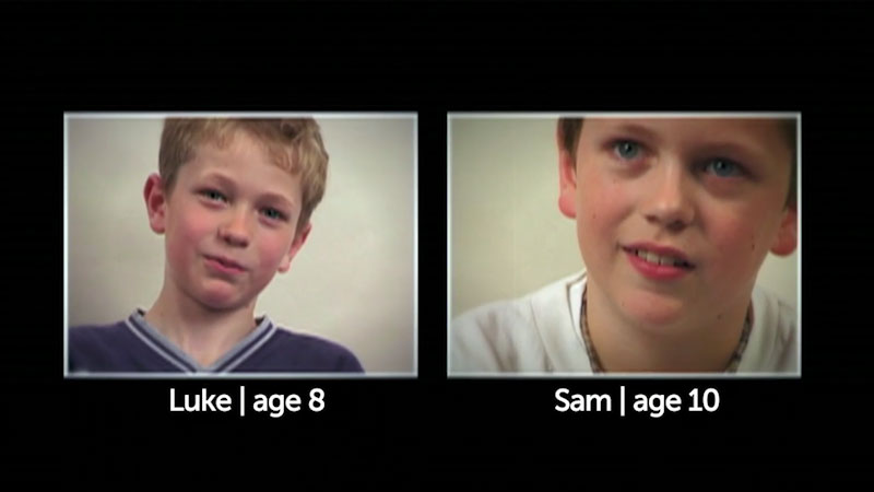 Still image from: Millennials: Growing Up In the 21st Century: Sam and Luke's Story