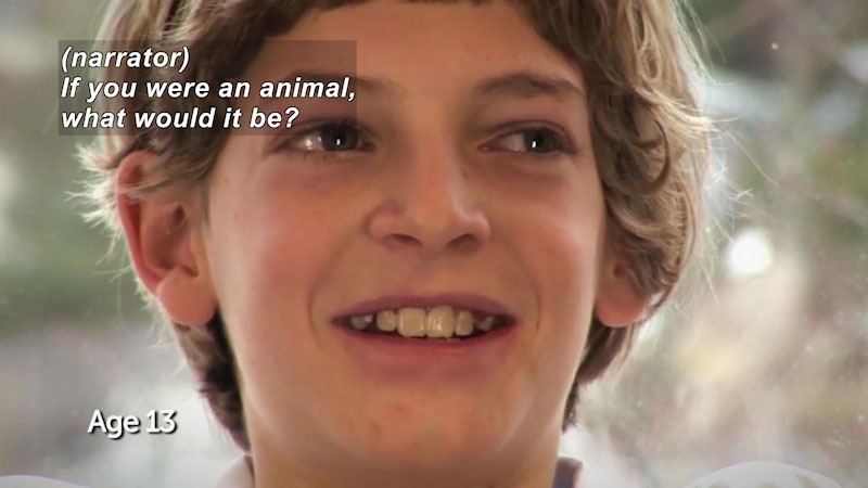 Still image from: Millennials: Growing Up In the 21st Century: Kellan's Story