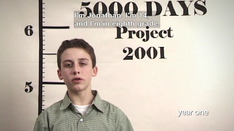 Still image from Millennials: Growing Up In the 21st Century: Jonathan's Story