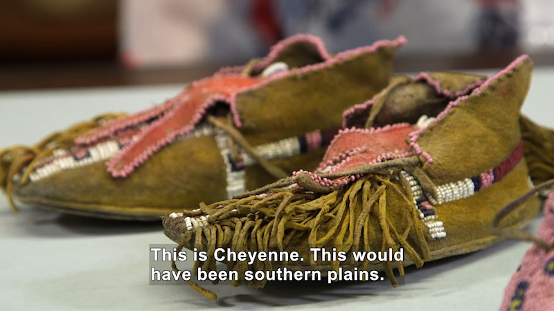 Still image from: The Brain Scoop: Shoes