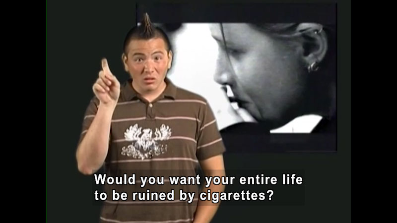 Still image from: Hands Off Tobacco: Part 3