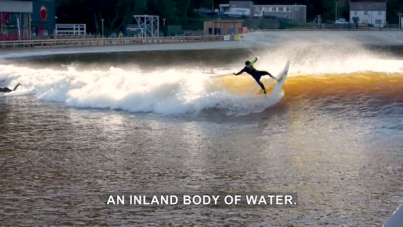 Still image from The Henry Ford Innovation Nation With Mo Rocca: Inland Surf Park