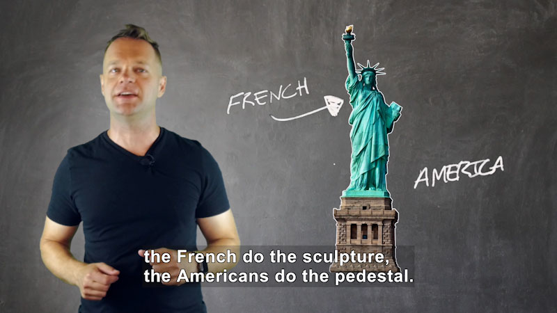 Still image from: Who Created the Statue of Liberty?
