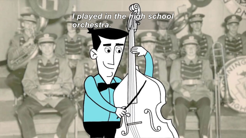 Still image from: Career Connections: Musician