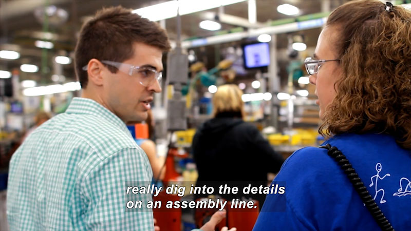 Still image from: Career Connections: Lean Manufacturing Manager