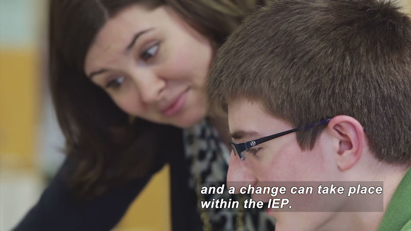 Still image from: Understanding the IEP Process: The Basics of Progress Monitoring
